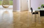 TEKA Wood Design raštuoti parketo skydai Villa ąžuolas Classic, lakuotas 14x390x390 mm