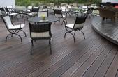 Moso terasinės lentos iš termiškai apdoroto bambuko Bamboo X-treme, alyvuotos 20x137x1850 mm