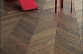 Design Parquet prancūziška eglutė (chevron) termiškai apdorotas ąžuolas 14x90x600 mm