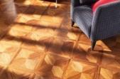 TEKA Wood Design raštuoti parketo skydai Villa Merbau Classic, lakuotas 14x390x390 mm